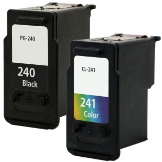 Canon PG-240 Black & CL-241 Color 2-pack Ink Cartridges