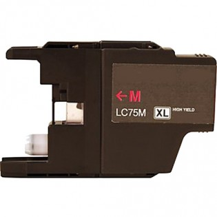Brother LC75M HY Magenta Ink Cartridge