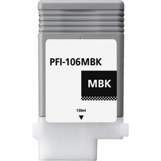 Canon PFI-106MBK Matte Black Inkjet Cartridge