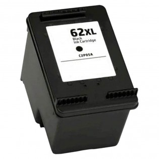 HP 62XL C2P05AN High Yield Black Ink Cartridge