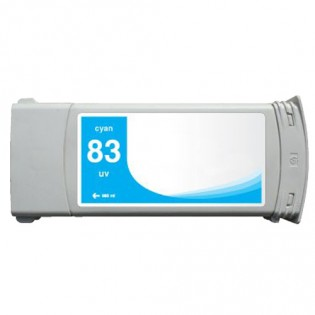 HP 83 C4941A Cyan Ink Cartridge