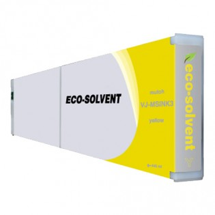 Mutoh VJMSINK3Y Eco-Ultra Yellow Ink Cartridge