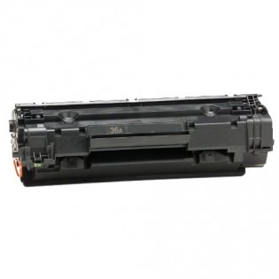 HP CB436A 36A Black Laser Toner Cartridge